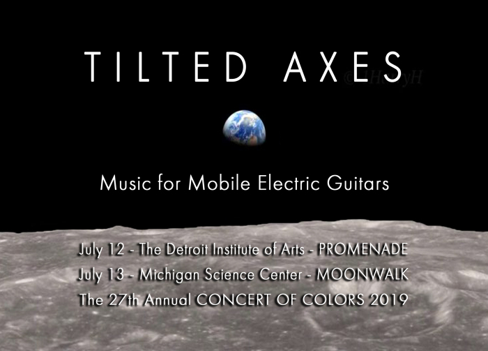 Tilted Axes: Music for Mobile Electric Guitars - by Patrick Grant